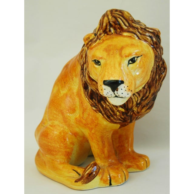 Mid-Century Italian Lion by Bellini - Image 4 of 9