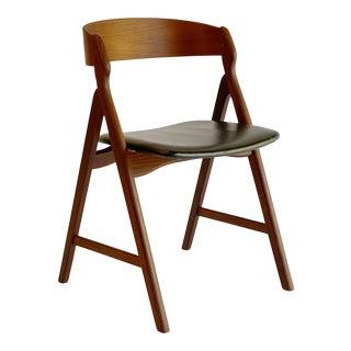 Henning Kjaernulf for Boltinge Støle Møbelfabrik A-Frame Teak Desk Chair For Sale