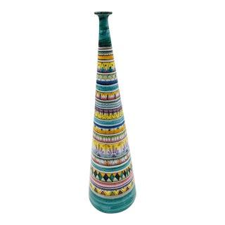 Italian Ceramic Vase by Simona Delli Jaconi For Sale