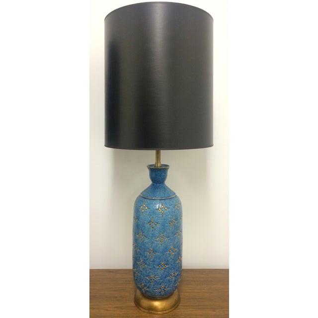 Italian Ceramic Marbro Lamps - A Pair - Image 3 of 4