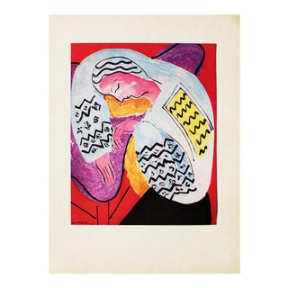 "1940s Henri Matisse ""The Dream"", Original Period Swiss Lithograph For Sale"