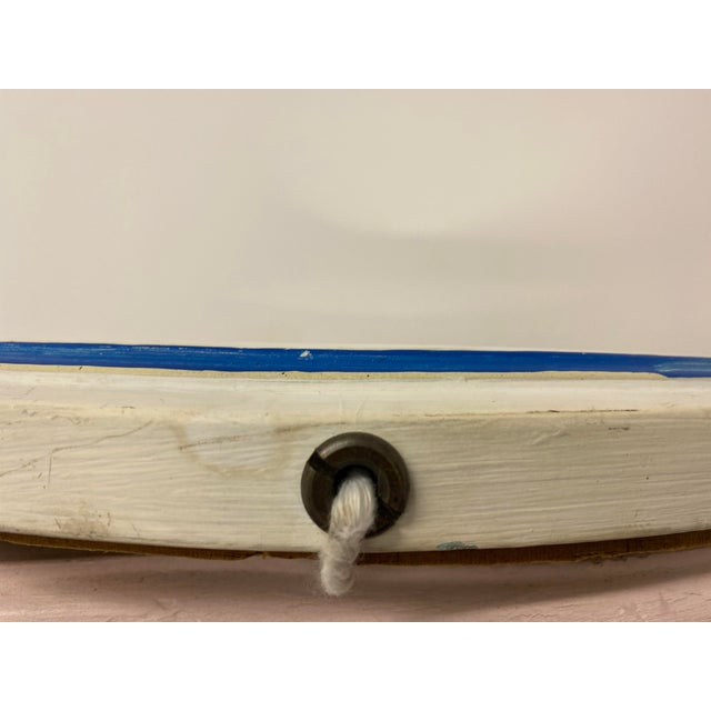 Vintage 1960s Nautical Porthole Mirror For Sale In Portland, ME - Image 6 of 10