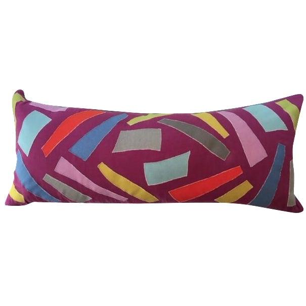Patchwork Lumbar Pillow - Image 1 of 4