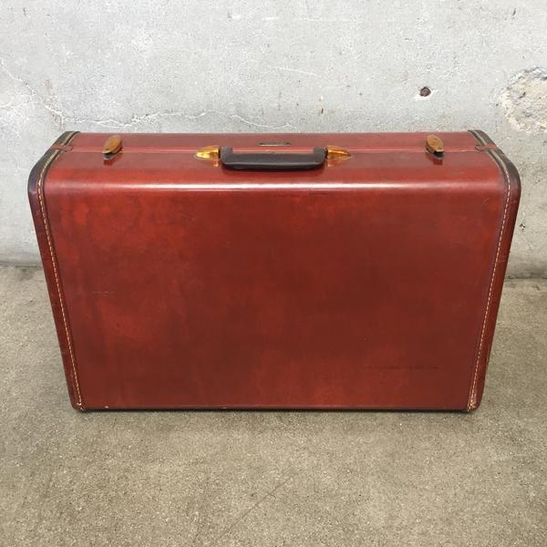Mid-Century Modern Vintage Samsonite Luggage For Sale - Image 3 of 8