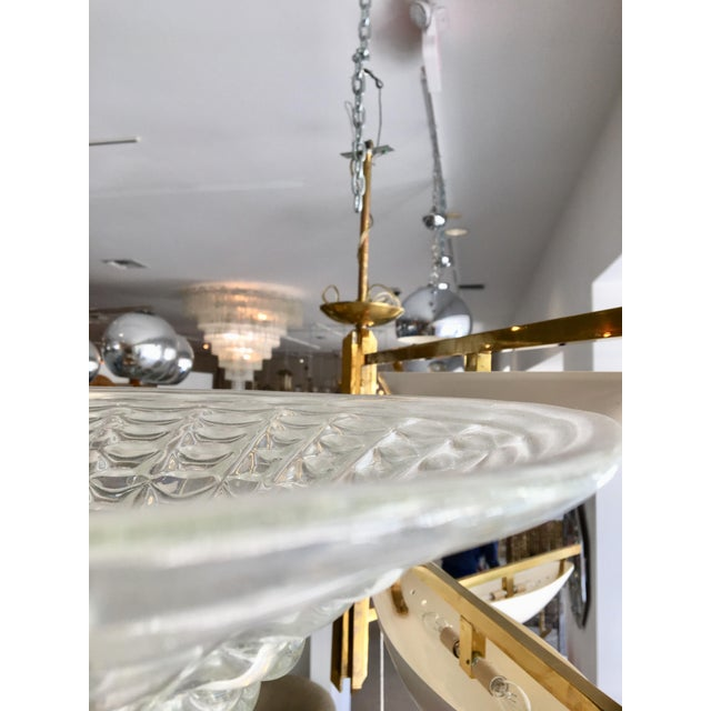 1960s Vintage Murano Glass Chandelier by Ercole Barovier For Sale In West Palm - Image 6 of 12