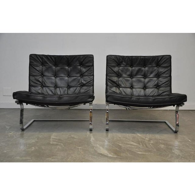 Mies Van Der Rohe Tugendhat Lounge Chairs for Knoll - Image 4 of 9
