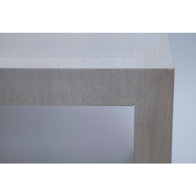 White Bleached Mahogany Coffee Table by T. H. Robsjohn-Gibbings For Sale - Image 8 of 10