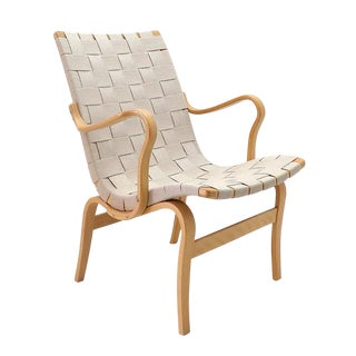 "Bruno Mathsson for Dux ""Eva"" Arm Chair For Sale"