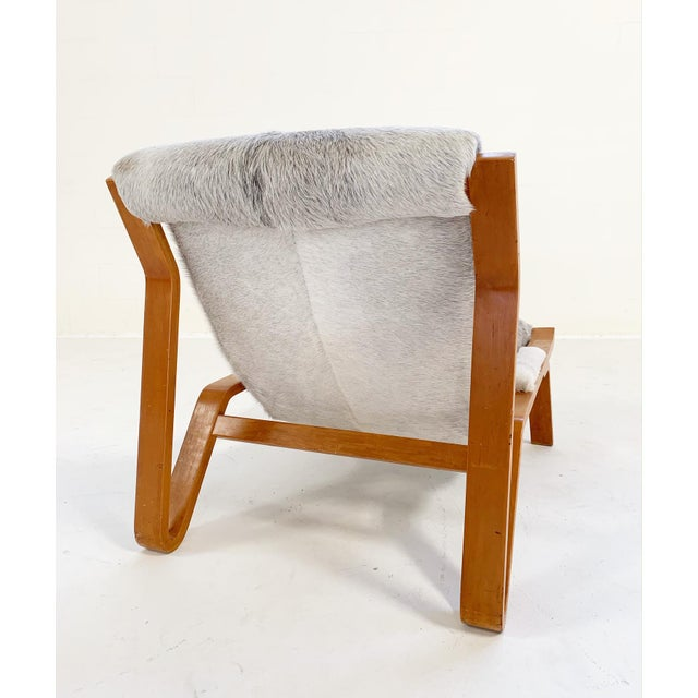 Harvey Probber Suspension Chair Restored in Brazilian Cowhide For Sale In Saint Louis - Image 6 of 12