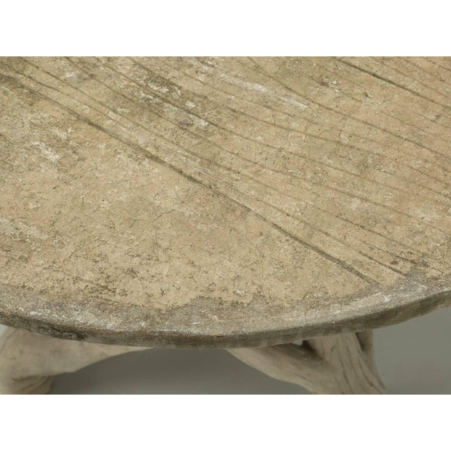 Faux Bois Table Attributed to Edouard Redont, Circa 1900 For Sale - Image 4 of 10