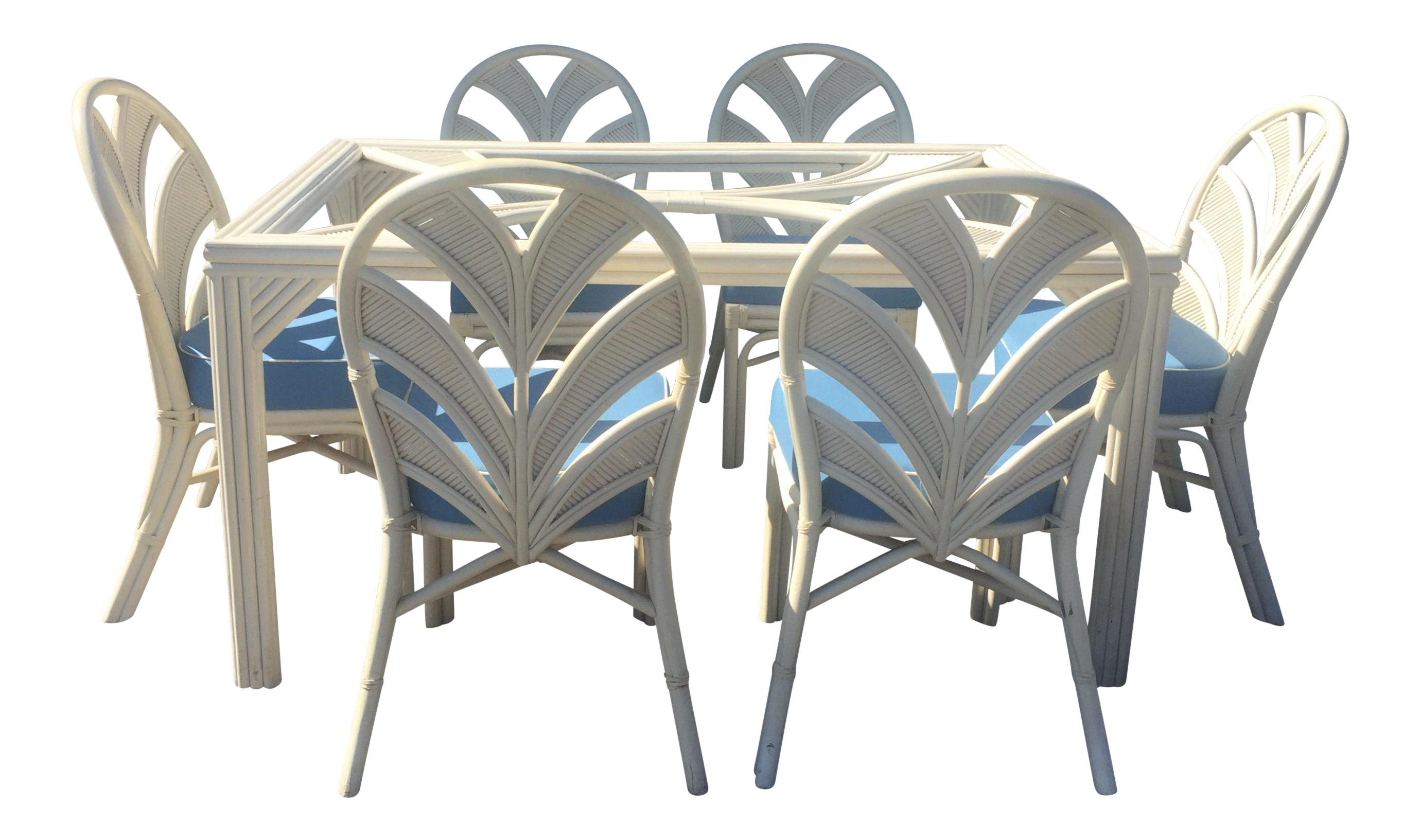 Bon Surfside Casual Furniture White Rattan Table U0026 Chairs