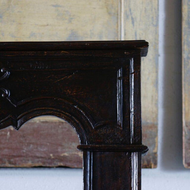 18th Century French Carved Mantle For Sale - Image 4 of 5