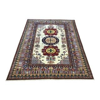 Kazak Handmade Rug - 8′1″ × 10′6″ For Sale