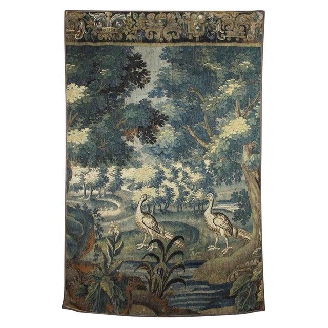 Flemish Verdure Tapestry For Sale