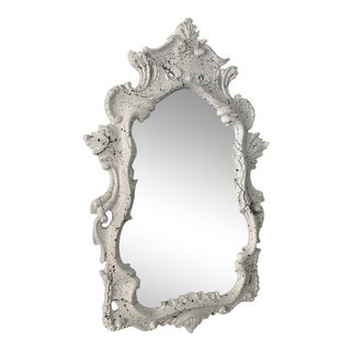Dorothy Draper Style Lacquered Mirror For Sale