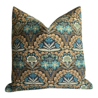 Arts & Crafts Linen Pillow Cover 20x20 For Sale
