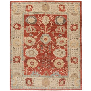 """Sultanabad wool Rug - 11'9"""" x 14'9"""" For Sale"""