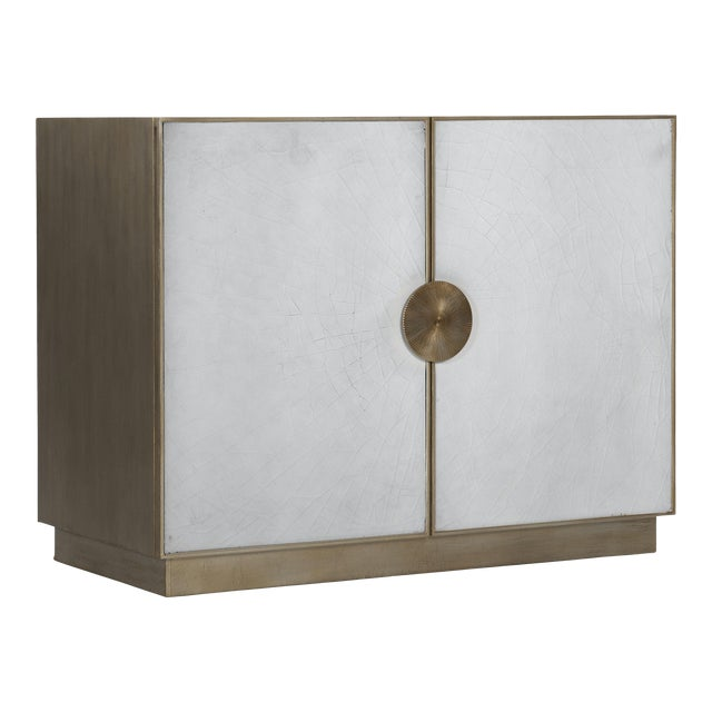 Kenneth Ludwig Chicago Darcy Crackle Chest For Sale