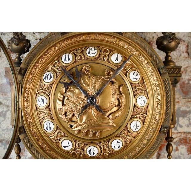 19th Century Creusy Paris Bronze French Clock - Image 4 of 10