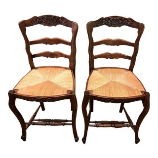Country French Barstools - a Pair For Sale