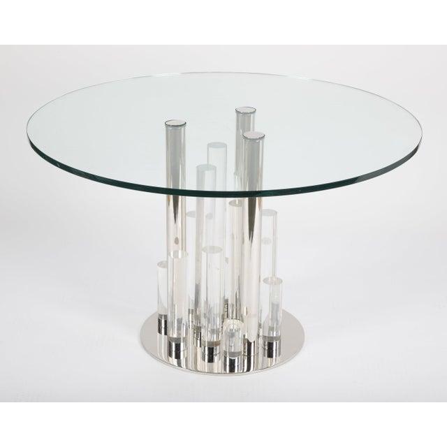 Metal Charles Hollis Jones Skyscraper Table For Sale - Image 7 of 12