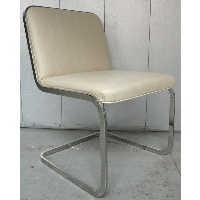 1970s Set of Four Cantilever Chairs by Brueton For Sale - Image 5 of 8