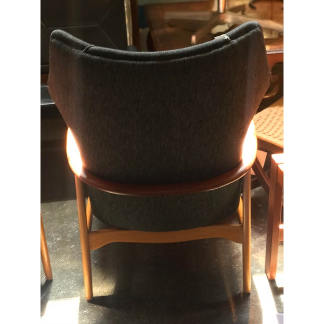 Aksel Bender Madsen Aksel Bender Madsen Danish Modern High Boy Lounge Chair For Sale - Image 4 of 5