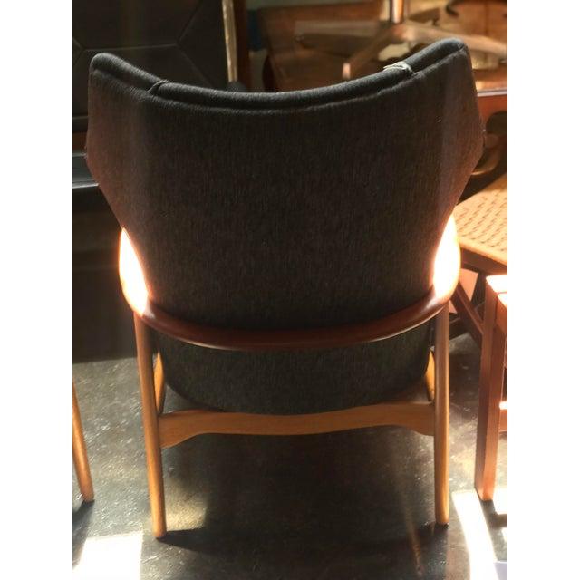 Aksel Bender Madsen Aksel Bender Madsen High Boy Lounge Chair For Sale - Image 4 of 5