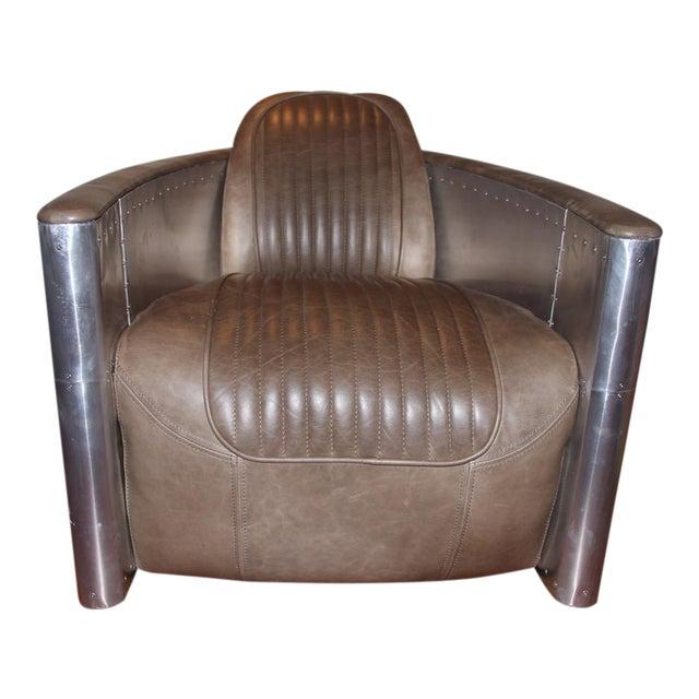 Fabulous Restoration Hardware Aviator Swivel Chair Short Links Chair Design For Home Short Linksinfo