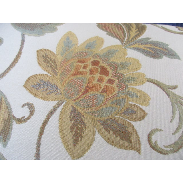 Green French Provincial Footstool For Sale - Image 8 of 12