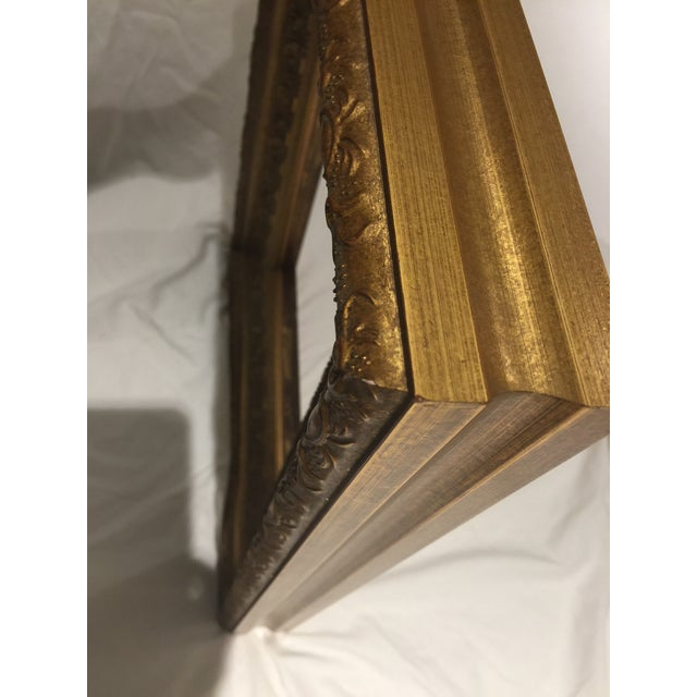 Carved Gold Gilt Frame For Sale In Savannah - Image 6 of 13