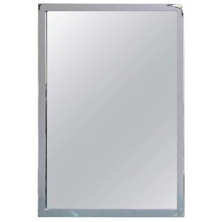 Mid-Century Modern Chromed Mirror For Sale