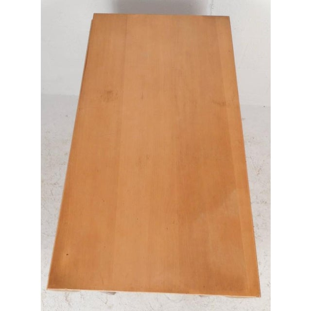 Mid-Century Modern Gate Leg Dining Table For Sale - Image 4 of 9