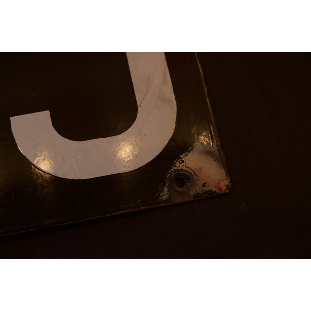 Enamel NYC Subway Plate from The Warriors Movie - Image 8 of 8