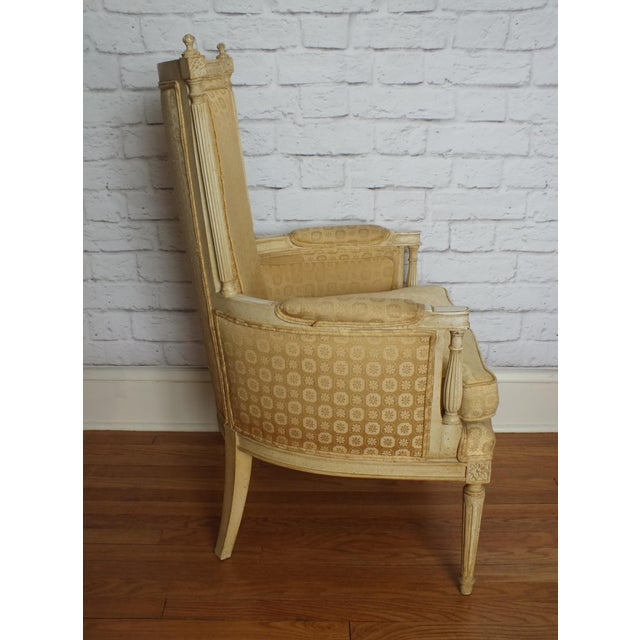 French Directoire Louis XVI Fauteuil - Image 6 of 11