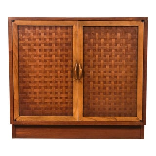 Lane Perception Mid-Century Modern Dresser Cabinet / Nightstand For Sale