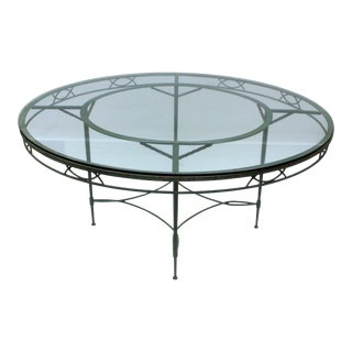 Large Salterini Patio Table - Seats 8 For Sale