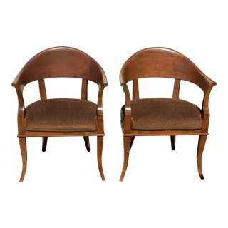 Mid Century Lounge Chairs - a Pair For Sale