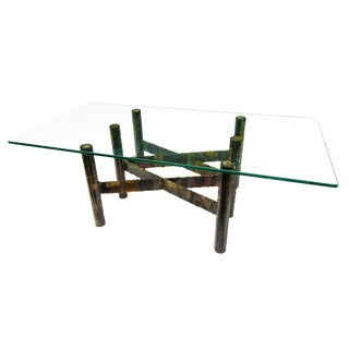 Paul Evans Welded Metal Coffee Table