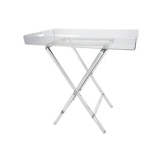 Lucite Folding Tray Table For Sale