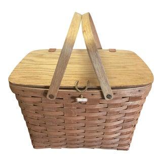 Vintage Longaberger Picnic Basket