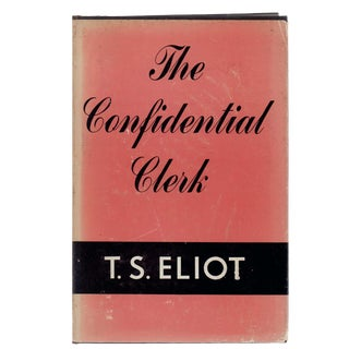 "1954 ""The Confidential Clerk"" Collectible Book For Sale"