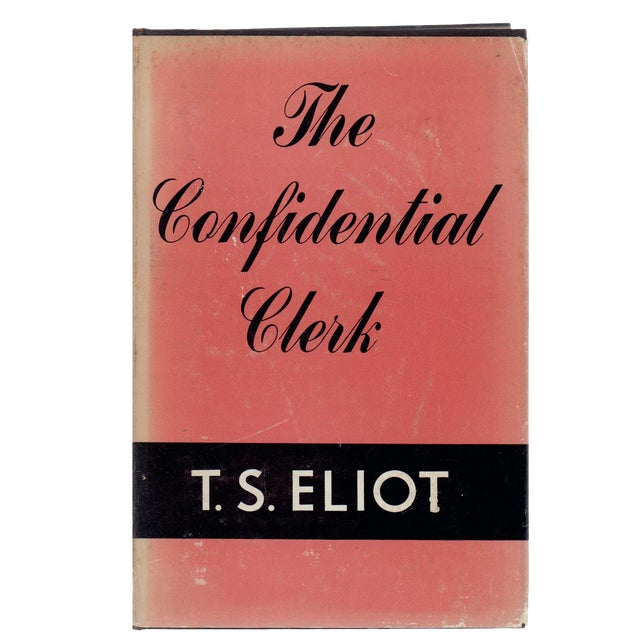 """1954 """"The Confidential Clerk"""" Collectible Book For Sale"""