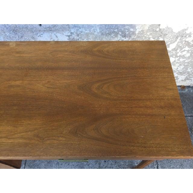 Vintage Mid-Century Walnut Desk - Image 6 of 6