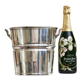 Vintage Waldorf Astoria Hotel, New York City Silver Plated Champagne Bucket For Sale