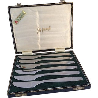 Sheffield Knives by Butler for Wanamakers - Set/6 For Sale