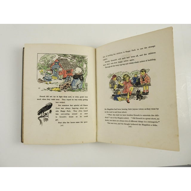 """Happifats & the Grouch"" 1917 Book For Sale In San Antonio - Image 6 of 7"