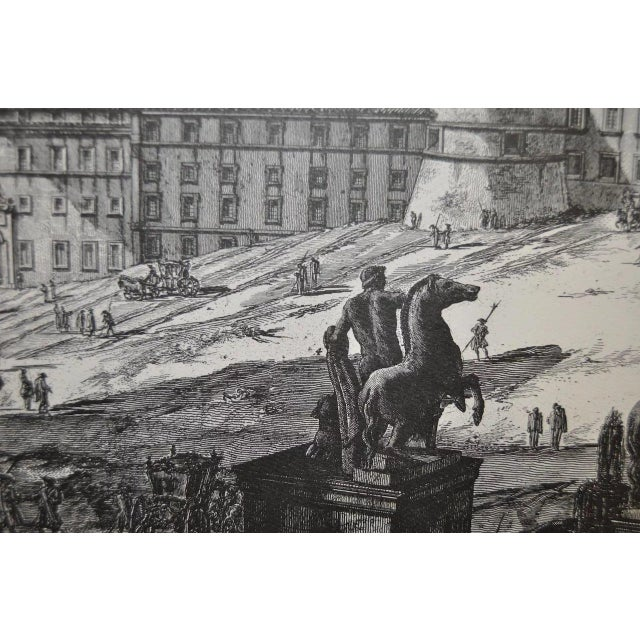 Illustration Piranesi Print by Sidney Z Lucas C.1950 For Sale - Image 3 of 8