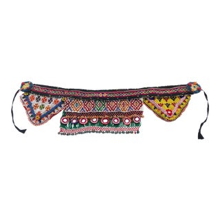 Afghan Tribal Beaded Belt / Wall Hanging For Sale