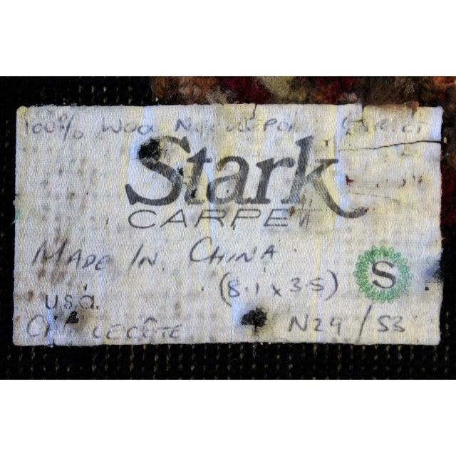 "English King Charles Spaniel Stark Needlepoint Runner -- 3'6"" x 7'9"" For Sale - Image 3 of 5"